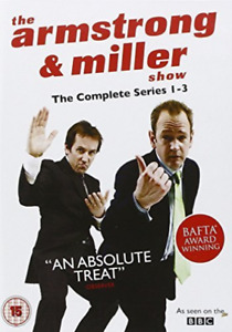 Armstrong And Miller Show: Series 1-3 DVD NEW