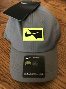 Nike Infant Just Do It baseball cap NWT Charcoal Gray Unisex