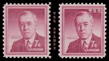 1040 1040a Woodrow Wilson 7c Liberty Issue Color Variety Set of 2 MNH - Buy Now
