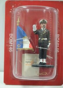 Del Prado 1/32 Figure Fireman Navy French Flag bearer-Marseille-France11 BOM146