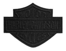 Harley Davidson Aufnäher/Patch Modell Black Bar & Shield EM302304 20,3 x 15,3 cm