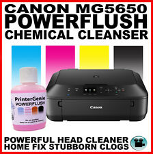 Canon MG5650: Head Cleaner - Nozzle Cleanser: Streaky Print Fix - Printer Clean