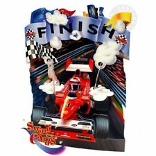 Santoro 3D Swing Card -Racing Car