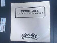 "IRENE CARA - FLASHDANCE WHAT A FEELING - 7"" SINGLE (CREAM PICTURE SLEEVE)"