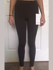 """247c86ac16 Lululemon Size 4 Strength And Sweat Tight 28 """" Green DKOV Nulux Pant Yoga  Vent"""
