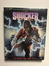 Shocker (Blu-ray Disc, 2015, Collectors Edition) NEW w/slipcover