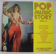 "33T POP MUSIC STORY VOL 2 LP 12"" TUBES CRAZY HORSES CECILIA ANGEL -PICKWICK 011"