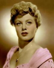 "SHELLEY WINTERS HOLLYWOOD ACTRESS MOVIE STAR 8x10"" HAND COLOR TINTED PHOTO"
