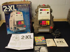 Vintage 70'S Type 1 Mego 2Xl Talking Robot W/ 8 Track Tape & Box Used And Test