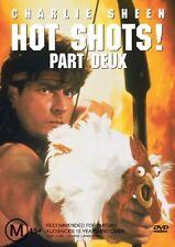 Hot Shots 02 (DVD, 2004) Charlie Sheen PAL Region 4 🇦🇺 Brand New Sealed
