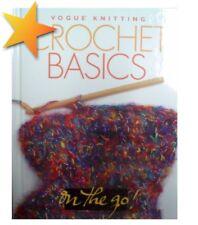 Vogue Knitting Crochet Basics Vogue On the Go Hardcover Patterns Book WE76999