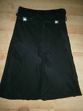 NEW - Atmosphere - Black Lined Smart Work Skirt with Belt - Size 16