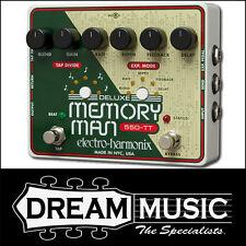 Electro Harmonix EHX Deluxe Memory Man 550-TT Analog Delay FX Pedal RRP$679
