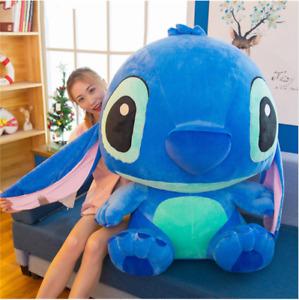 80cm~35CM Giant Cartoon Stitch Lilo and Stitch Plush Toy Doll Children Stuffed