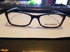 NEW Dolce & Gabbana DG3228 501 Women's Black Rx Eyeglasses Frames 53/16~140