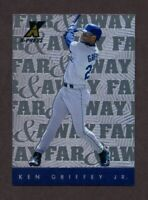 1997 Pinnacle X-Press Far and Away Ken Griffey Jr #14 NM-MT