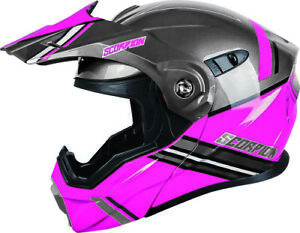 Scorpion EXO-AT950 Cold Weather Electric Shield Helmet Snowmobile