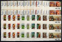 AE141210/ SPAIN - LABELS / COLLECTION 2003 - 2006 MINT CV 190 $