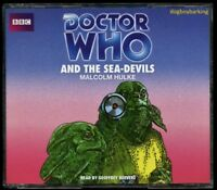 Doctor Who The Sea Devils 4CD audio book Target read by Geoffrey Beevers