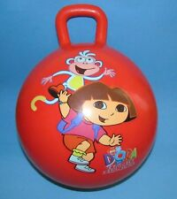 Dora the Explorer Hopper Ball Kids Preschool Toy with shirt,cards,and watch.