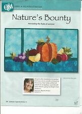 I0321$ NATURE'S BOUNTY WALL HANGING QUILT PATTERN/INSTRUCTIONS