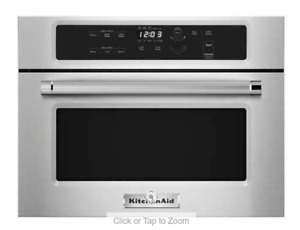 KitchenAid 1.4CuFt Built-In Microwave with Precision Touch Controls, Stainless S