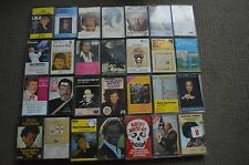 62 RARE ASSORTED EASY LISTENING CASSETTE TAPES! NORMIE ROWE JULIO IGLESIAS