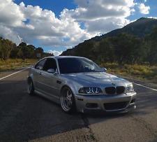 """19"""" ESR SR4 Wheels For BMW E46 M3 19X9.5  / 19X10.5 +22 5x120 Silver Rims Set 4"""