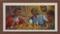 English Privateer Woodes Rogers Governor of Bahamas Vintage Ad Trade Card