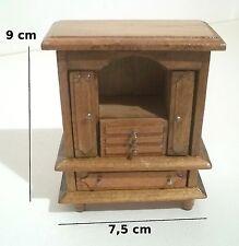 meubles en bois pour vitrine maison de poupée,buffet, miniatures   *B13