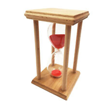 30 Minutes Hourglass Kitchen Timer Cooking Egg Sand Clock Home Decor,Red