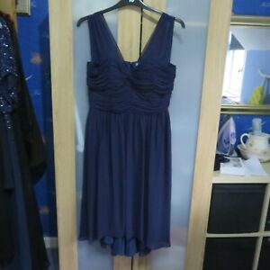 M&S Woman Navy Blue Evening/Cocktail Dress size 14
