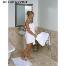 Heated Towel Rail Bathroom Bath Towel Warmer Electric Rack Small Wall Radiator