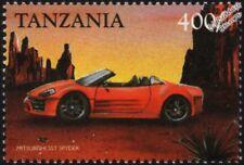MITSUBISHI SST SPYDER Mint Automobile Car Stamp (1999 Tanzania)