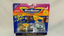 Micro Machines # 2 Private Eyes Collection 3 Pc Travel All Edsel Wagon Panel Van