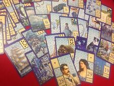 "Belvoir - Lilac Blue"" Lenormand ( Divination, tarot cards, fortune telling )"