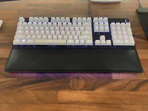 Razer Huntsman Elite | Purple Switches (White Keycaps)