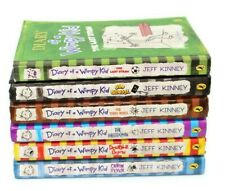 Diary of The Wimpy Kid - Jeff Kinney - Collection of 6 Books (5 Hardbacks)