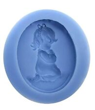 Little Girl Praying Silicone Mold for Fondant, Gum Paste & Chocolate - NEW