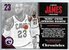 2017/18 Panini Chronicles LeBron James Cleveland Cavaliers Pink Parallel #47/99