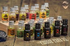 Essentials Beards, Beard Conditioning Oil - 100% Natural 10ml UK Made Beard Oil
