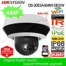 Hikvision OEM 4MP 4X PTZ WIFI Camera IR POE WDR Built-in Mic DS-2DE2A404IW-DE3/W