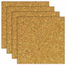 """Board Dudes 6"""" x 6"""" Light Cork Tiles 4-Pack (CXP78)"""