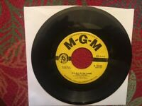 It's All In The Game/Please Love Me Forever/Tommy Edwards/45Rpm/MGM Records 1958