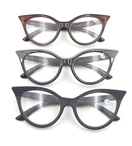 Stylish Fashion Art Deco Cat Eye Glasses Frame 2021 Eyeglasses in 3 Colours GF81