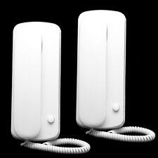 Non Visual Wired Home Office Doorbell Interphone Intercom System Audio Doorphone