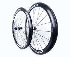 Corima 47mm tubular carbon Disc/dt swiss 350/sapim CX-Ray 1406g ruedas