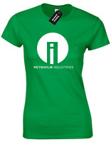 REYNHOLM IND LADIES T SHIRT IT CROWD MAURICE MOSS ROY CLASSIC RETRO COMEDY TOP