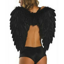 Angel Wings Fancy Dress Party Outfit Feather Costume Large Adult Party Halloween