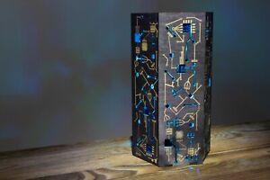 Cyberpunk Hexagon Night Lamp - Handmade Night Lamp/Desk LED RGB Lamp Futuristic